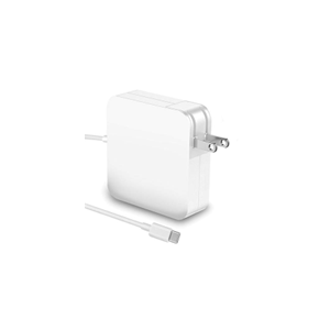 USB TYPE-C CHARGER 87W Square Model in white