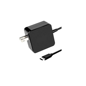 USB TYPE-C CHARGER 65W Square Model in Black