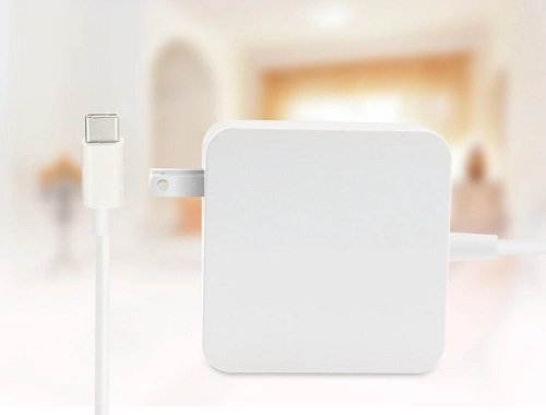 USB TYPE-C CHARGER 61W Square Model in white